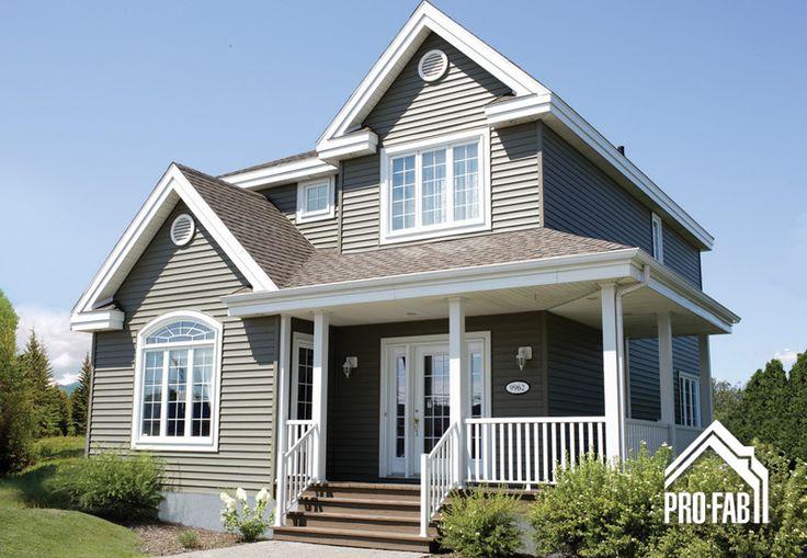 Pro fab constructeur de maisons modulaires usin es for Country style manufactured homes