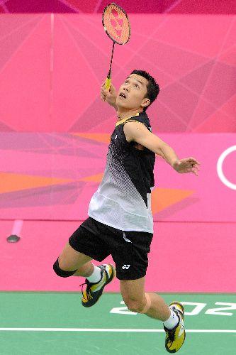 スポーツバドミントン選手。 インドネシアのタウフィック・ヒダヤト選手