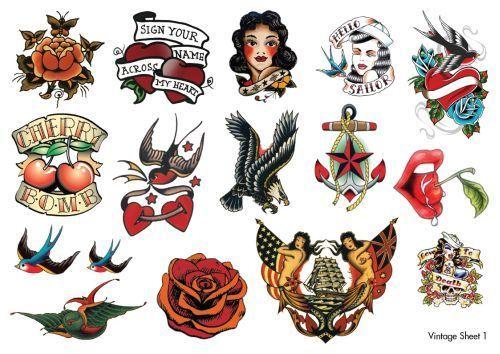 117 Best Vintage Tattoo Style Images On Pinterest