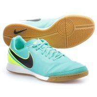 Zapatillas de Fútbol Sala Tiempo Genio II Leather IC Verde