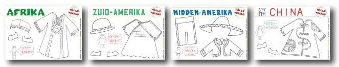 Hallo Wereld-Kleertjes voor aankleedpopjes van Studio Stift.  Gratis downloaden; http://studiostift.nl/downloads/