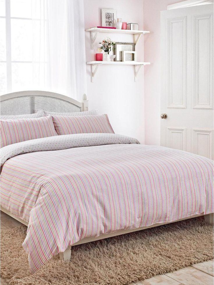 Amberley Duvet Cover Set - Pink…