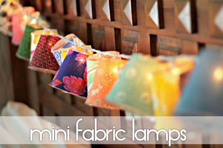 Mini Fabric Lamps - TaylorMade
