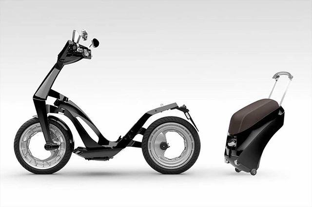 Ligero y fácil de manejar un scooter es hoy en día una excelente opción de movilidad en una urbe llena de automóviles. Pero si a esto le agregamos los calificativos eléctrico y plegable entonces se convierte en un vehículo ideal para millennials. Ujet reúne ésta y otras propiedades en el modelo que acaba de presentar en el CES de Las Vegas el cual llegará a España a mediados de este año a un precio que supera los 7 mil 400 euros es decir más de 170 mil pesos. #ujet #scooter #moto…