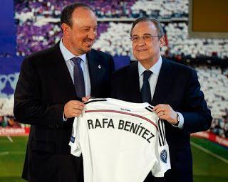 Blog Esportivo do Suíço:  Real Madrid anuncia oficialmente Rafa Benítez como o novo treinador