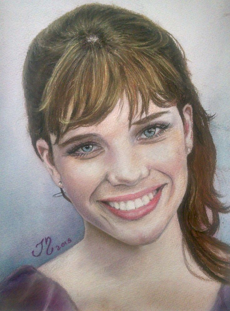 Retrato a Lápis - Bruna Linzmeyer