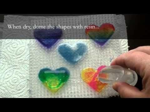 ▶ Resin Crafting: Suncatcher Pendants - YouTube