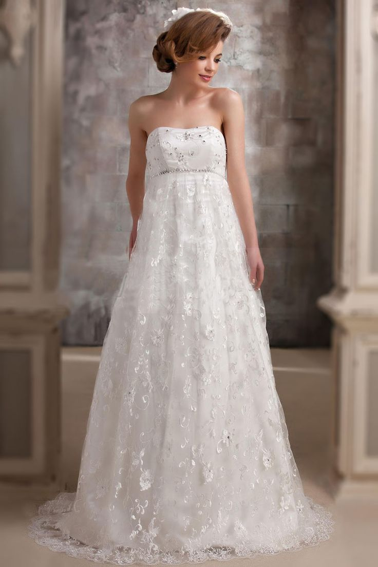 10 best maternity dresses images on pinterest empire maternity modern strapless a line lace maternity bridal gown ombrellifo Image collections