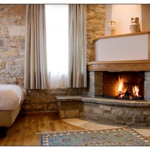 Boutique hotel, Traditional guesthouse, Stone, Wood and natural fabrics textiles