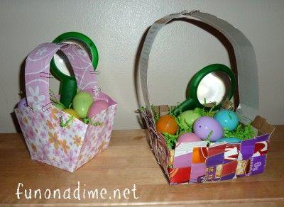 The 11 best easter images on pinterest easter bunny easter eggs homemade easter baskets negle Gallery