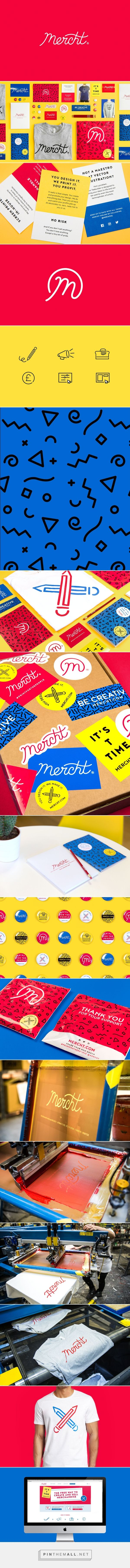 Mercht on Behance - created via https://pinthemall.net