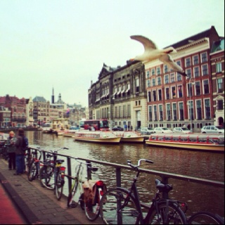 Amsterdam... Some days ago