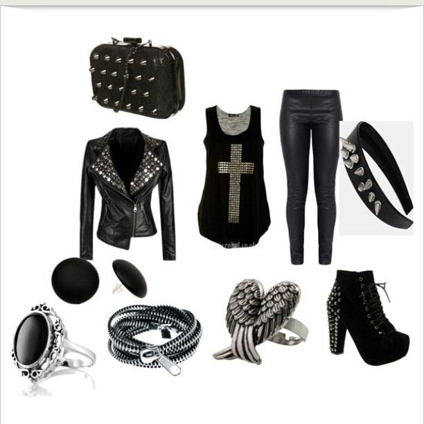 Modern goth outfits | gothic outfits | Pinterest | Goth ...