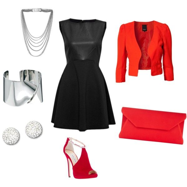 """""""Little Black Dress"""" by a-cocivera on Polyvore"""