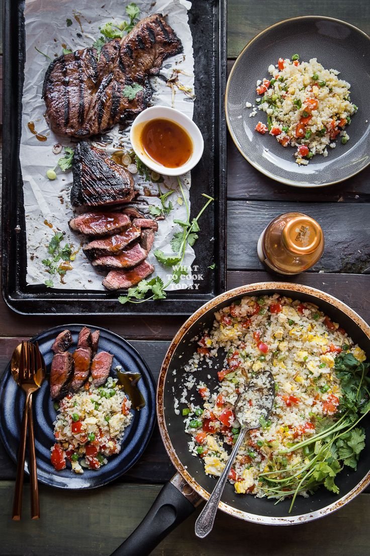 Learn how to make this easy Kung Pao Steak and Cauliflower Fried Rice that will quickly become your family's favorite meal