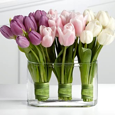 Trouw je in de lente, dan zijn tulpen op kleur geweldige blikvangers!