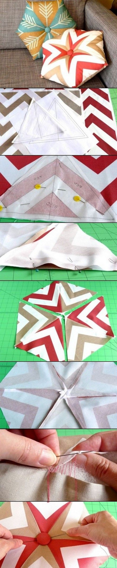 DIY Kaleidoscope Pillow