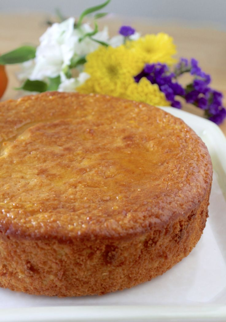 Sicilian Orange Cake (Using an Entire Orange: Peel, Juice and Pulp) - Christina's Cucina