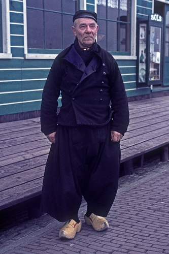 Volendam Holland Man 1966, via Flickr. #NoordHolland #Volendam