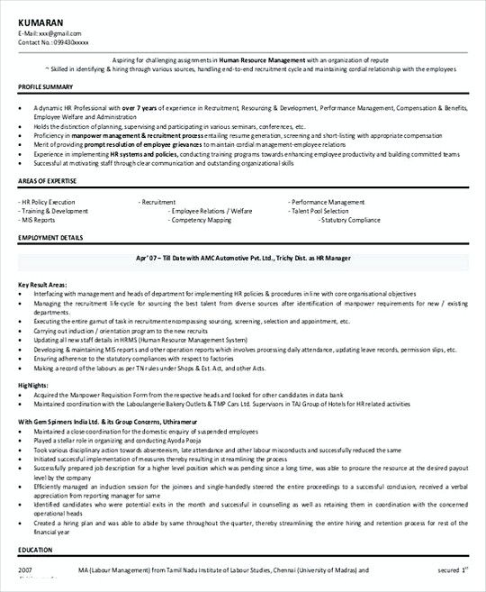 The 25+ best Good resume templates ideas on Pinterest Good - hr resume