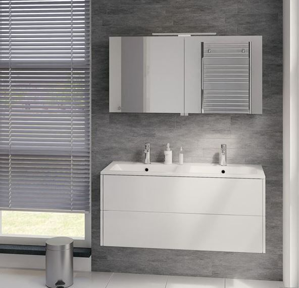 19 best images about inspiratie badkamer on pinterest heated towel rail modern bathrooms and - Moderne badkamer meubels ...