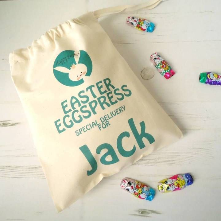 43 best personalised easter gifts images on pinterest tailored chocolates and gifts easter eggspress bag negle Image collections
