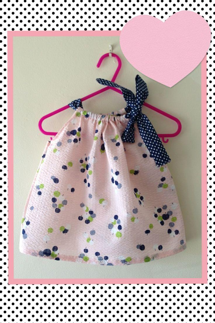 Pretty pillowcase dress /newborn