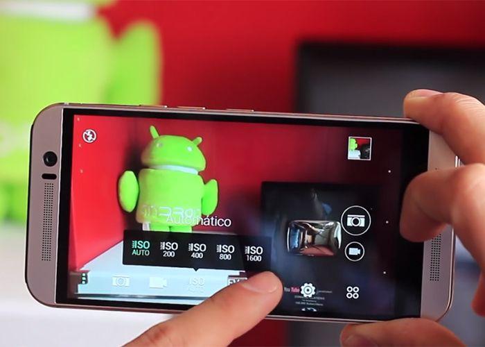 HTC One M9 camara y galería para android