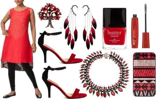 Black and Red - Myoho | Indian Designers