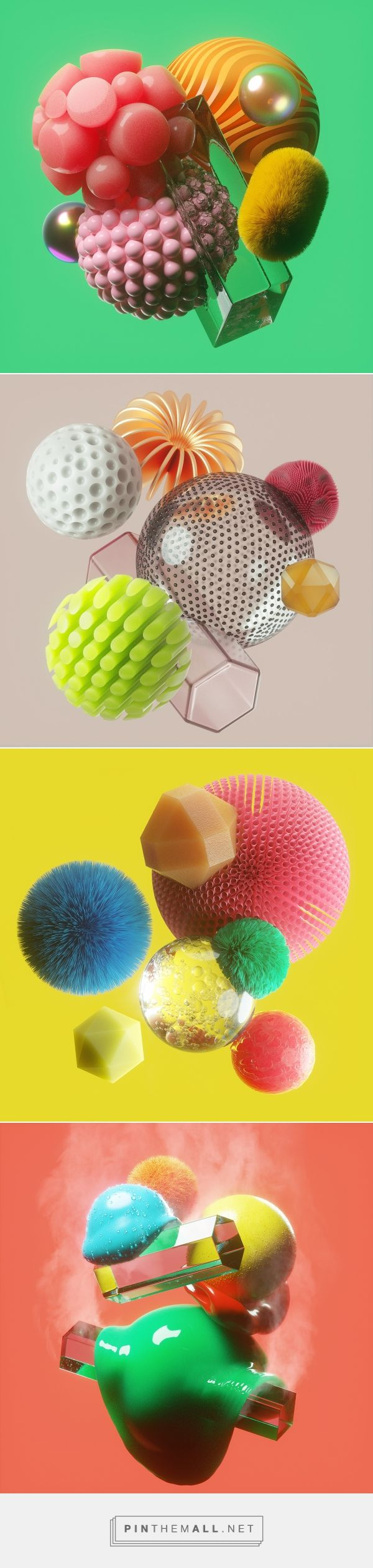 Material Objects on Behance... - a grouped images picture - Pin Them All
