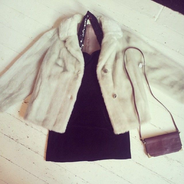 immaculate fur jacket  £60.00