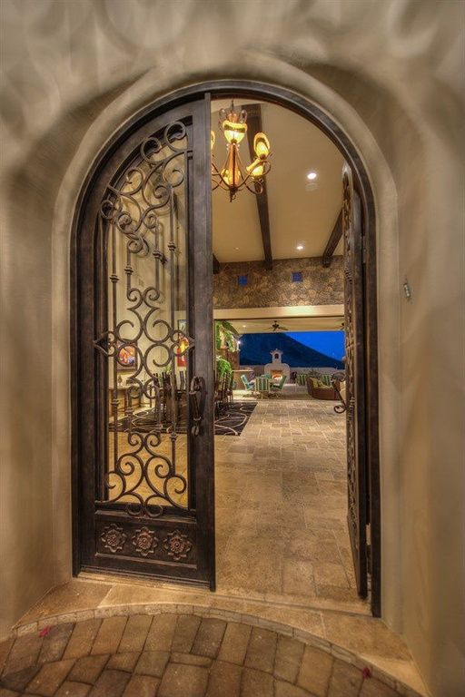 1000 ideas about mediterranean front doors on pinterest for Mediterranean style entry doors