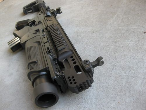 Anybody know what upper this is?  Riding under it is an EGLM grenade launcher