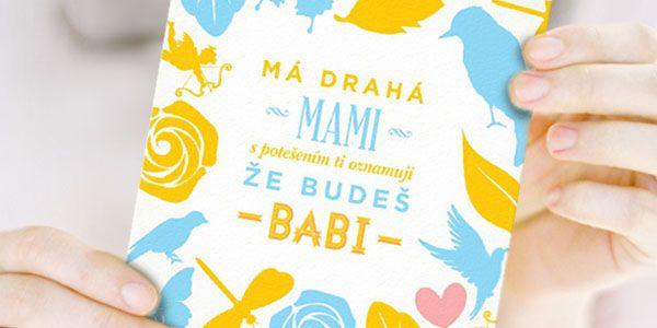 pepperpot.cz - vše o krásných věcech pro děti, miminka a náctileté a kreativním životě s nimi: Oznámení těhotenství pro maminku zdarma ke stažení...