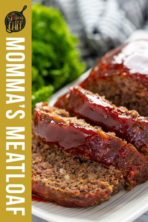 Momma S Meatloaf Recipe Meatloaf Christmas Recipes Appetizers Christmas Recipes Easy