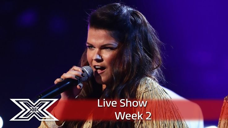 Saara Aalto belts out River Deep, Mountain High   Live Shows Week 2   Th...