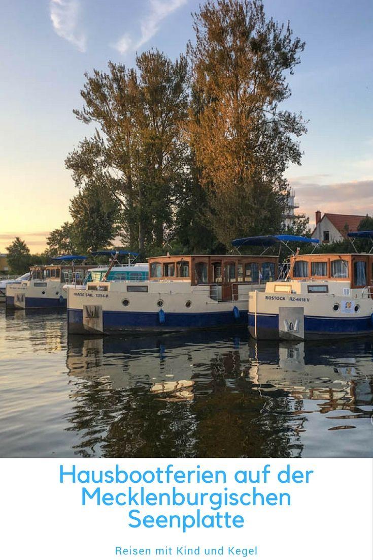 Hausbootferien auf der Mecklenburgischen Seenplatte Lake