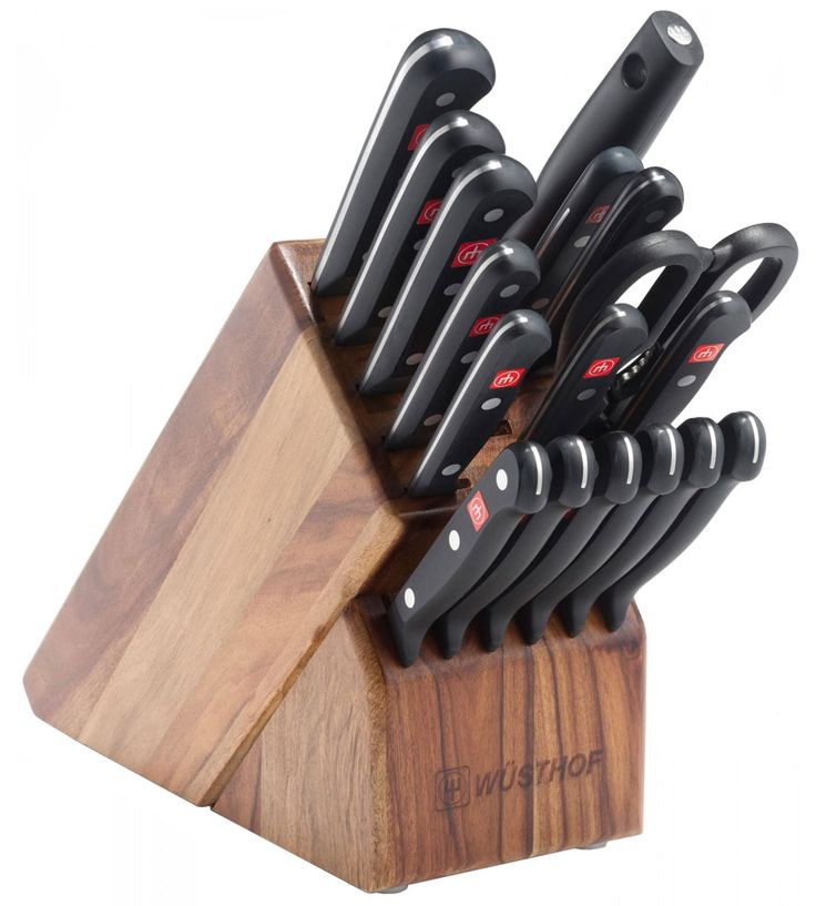 45 best wusthof images on pinterest kitchen knives for Wusthof kitchen essentials set 7 piece