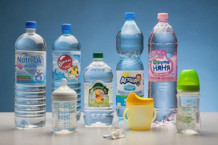 Детская вода — держать подальше от детей!