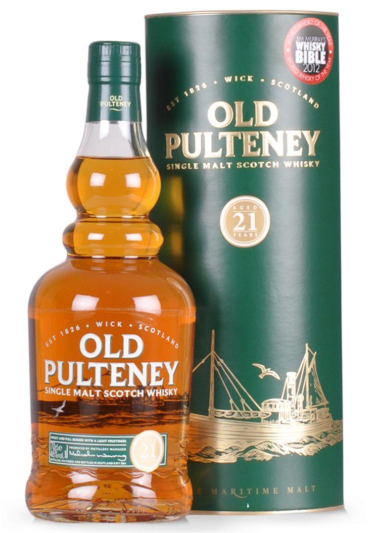 Whisky Old Pulteney, Single Malt Scotch 21 ani, (0.7L) - SmartDrinks.ro