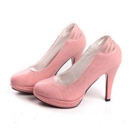 Graceful Special Design Ladies' Wedges Pink