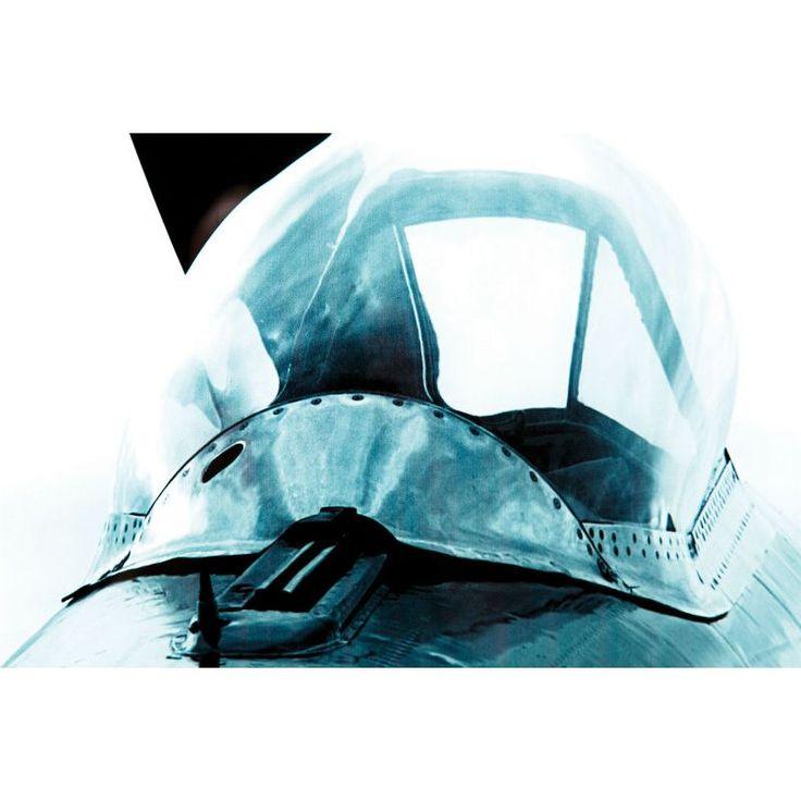 Πίνακας glass Airplane 80x120 Πίνακας ψηφιακή εκτύπωση σε γυαλί 4mm.
