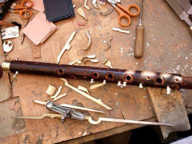 Alle Holzblasinstrumente werden bei uns von Grund auf gefertigt.