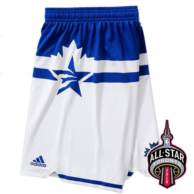 2016 Toronto All-Star Eastern Conference Shorts White - $19.88 ...