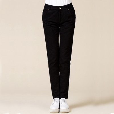 Casual Cotton khaki pants women spring black plus size OL formal cargo pants ladies autumn green slim fit oversize work trousers