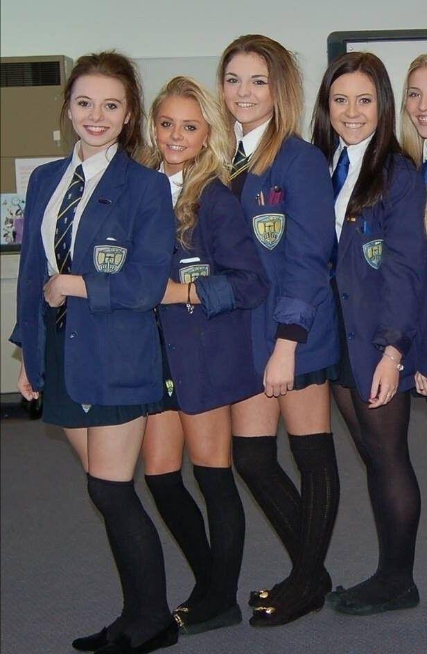 Sexy Schule Mädchen Spanking