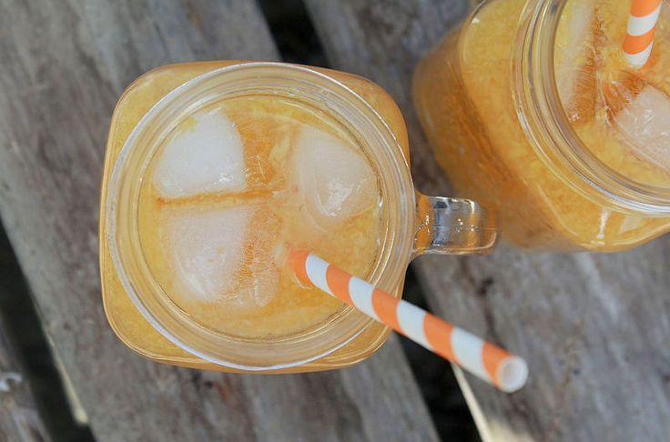 Persikka & Mango jäätee ohje