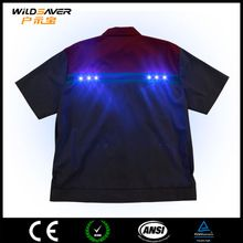Fashionable EL Flashing built-in LED polo shirt  best buy follow this link http://shopingayo.space