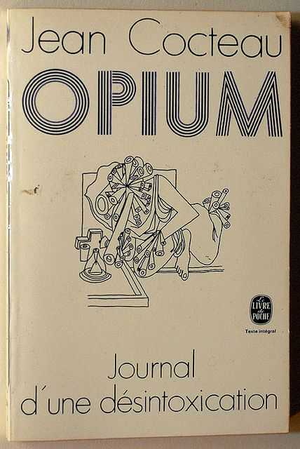 Jean Cocteau : Opium, Journal d'une désintoxication by alexisorloff, via Flickr