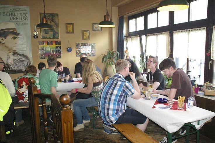 Der SciFi und Fantasie Club Osnabrück Club traf sich am 07.Mai 2016 zum 1. Mal. #SciFanOs